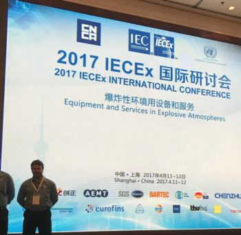 EEHA Engineers attending IECEx 2017